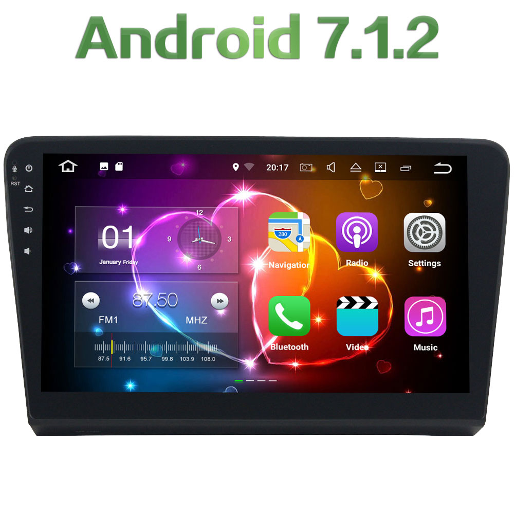 2GB RAM 16GB ROM Android 7 1 2 Quad Core 4G WIFI Car font b Radio