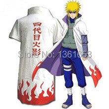 Japan Anime font b Naruto b font Yondaime Hokage Cloak White Dust coat font b Cosplay