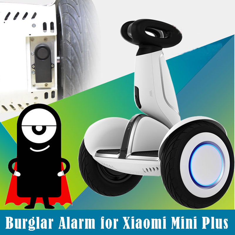 burglar alarm for Xiaomi Ninebot 9 plus hoverboard anti theft alarm for Xiaomi mini plus scooter