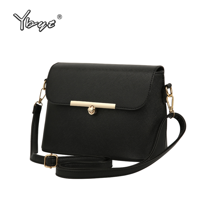 YBYT brand 2017 new fashion casual handbags women flap luxury PU leather clutches ladies small shoulder messenger crossbody bags casual small candy color handbags new brand fashion clutches ladies totes party purse women crossbody shoulder messenger bags