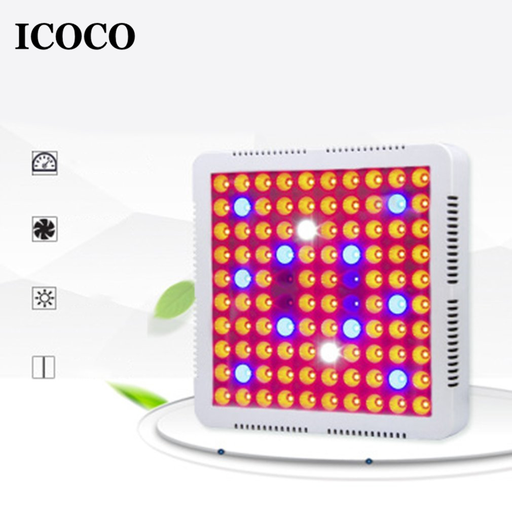 ICOCO 300/600W LED Grow Light  Full Spectrum Growth Lighting for Indoor Plants and Flower Vegetable Greenhouse Grow TentICOCO 300/600W LED Grow Light  Full Spectrum Growth Lighting for Indoor Plants and Flower Vegetable Greenhouse Grow Tent