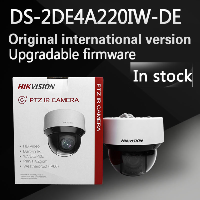 In stock free shipping english version DS-2DE4A220IW-DE 2MP Network IR mini PTZ Camera 3D intelligent positioning function dhl free shipping english version ds 2de4220iw d 2mp ip camera mini ptz camera security camera instead of ds 2de4582 a