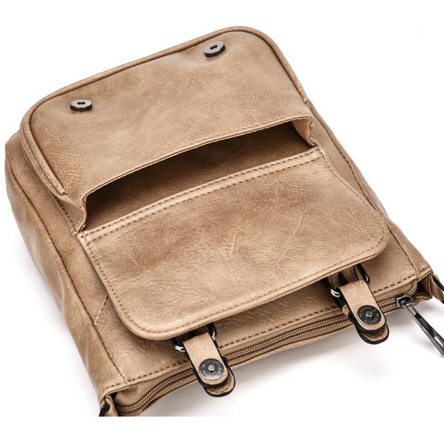 PU Leather Messenger