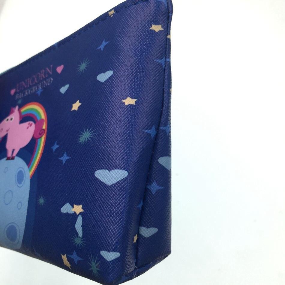 New Arrive Unicorn Cosmetic Bag Cute Women Make Up Bag Travel Waterproof Portable Makeup Bag Toiletry Kits Necessaire