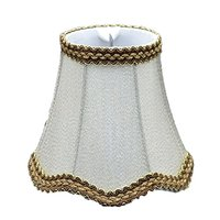 Wave Design Lamp Shade Fabric Classic Style Small Clip On For Table Lamp Chandelier Wall Unique