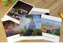 30 Pcs Claude Monet Paintings Postcards