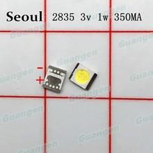 1000pcs המקורי עבור סיאול מתח גבוה LED תאורה אחורית 3528 2835 1W 100LM מגניב לבן SBWVT124E LCD תאורה אחורית עבור טלוויזיה טלוויזיה יישום