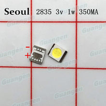 1000pcs Original For SEOUL High Power LED Backlight 3528 2835 1W 100LM Cool white SBWVT124E LCD Backlight for TV TV Application