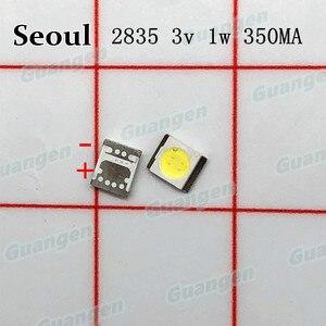 Image 1 - 1000pcs Original For SEOUL High Power LED Backlight 3528 2835 1W 100LM Cool white SBWVT124E LCD Backlight for TV TV Application
