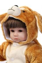 Super Cute Bebe Reborn Meninas With Soft Animal Style Doll Clothes NPK Hot Brand Reborn Dolls Babies Best Christmas Doll Toys