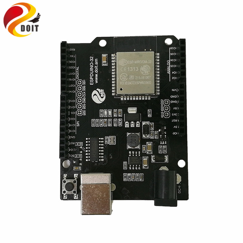 DOIT Arduino IDE for ESP32 Module WiFi+Bluetooth Development Board Ethernet Internet Wireless Transceiver Control Board DIY RC f04305 sim900 gprs gsm development board kit quad band module for diy rc quadcopter drone fpv