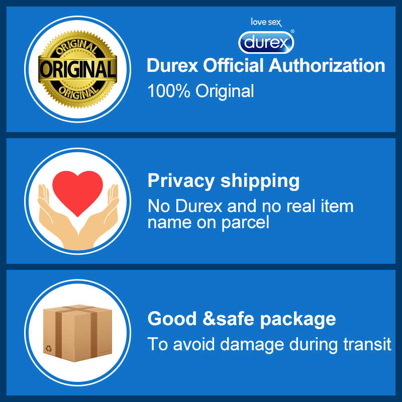 ... Durex Condoms Ultra Thin Sensation Penis Cock Sleeve Natural Latex with  Extra Lubricated Condoms Intimate Goods