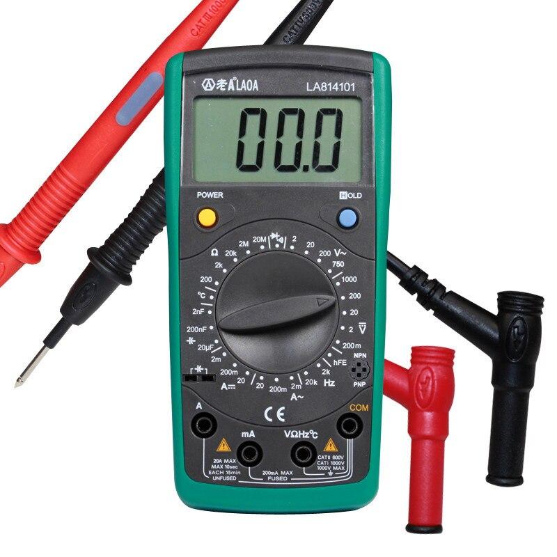 LAOA digitális multiméter multimetro műszer szonda ampermérő - Mérőműszerek - Fénykép 3