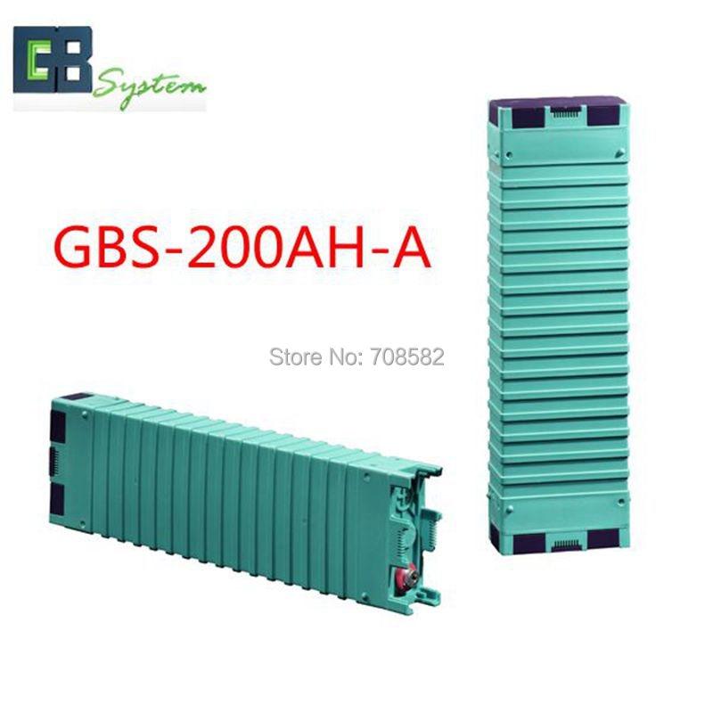 4pcs GBS 3.2V200AH-A LIFEPO4 Battery for electric car/ solar/UPS/energy storage etc GBS-LFP200AH-A 1pcs gbs lifepo4 battery 3 2v400ah for electric car solar ups energy storage etc