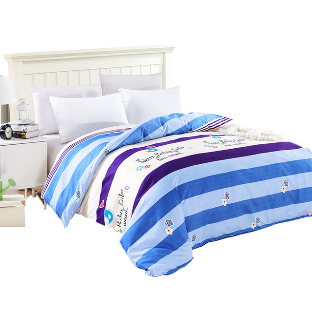 Bedding Sanding Reactive Printing Single Double Quilt Cover Factory
