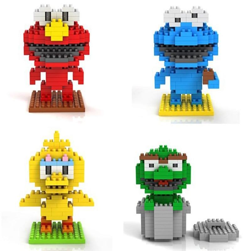 LOZ Diamond Blocks Nano Building Sesame Street Elmo Cartoon 2229