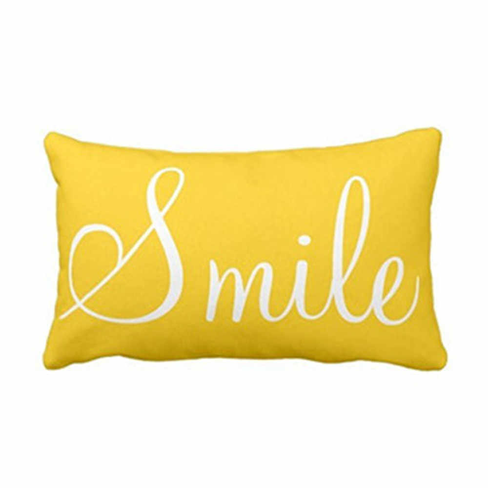 Yastık kılıfı minderler keten yastık kılıfı yastıklar ev yatak dekoratif harfli yastık kılıfı D411