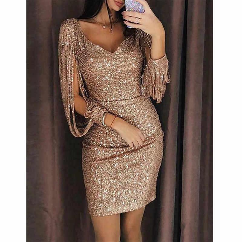 Wanita Bodycon Gaun Malam Kasual Perak Emas Perban Pesta Seksi Tank Top 2019 Terbaru untuk Musim Panas Vestidos De Verano elbise