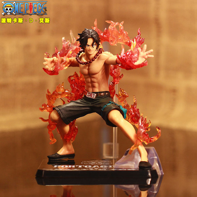Assorted One Piece Figurines: Shanks Zoro Luffy Sabo Ace Sanji