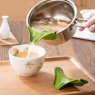 US $1.06 15% OFF|Hot Useful Silicone Pour Soup Funnel Kitchen Gadget Tools  Water Deflector Cooking Tool-in Cookware Lids from Home & Garden on ...