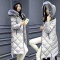 Winter Jacket Women Fox Fur Collar Hooded Women's Down Jacket  Thicken White Duck Down Coat Plus Size Coats Parkas Mujer C2580