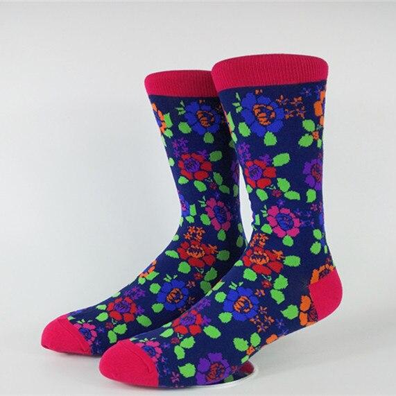Mens Rose Casual Dress Socks USA Size 9-13 (Euro Size 42-46)