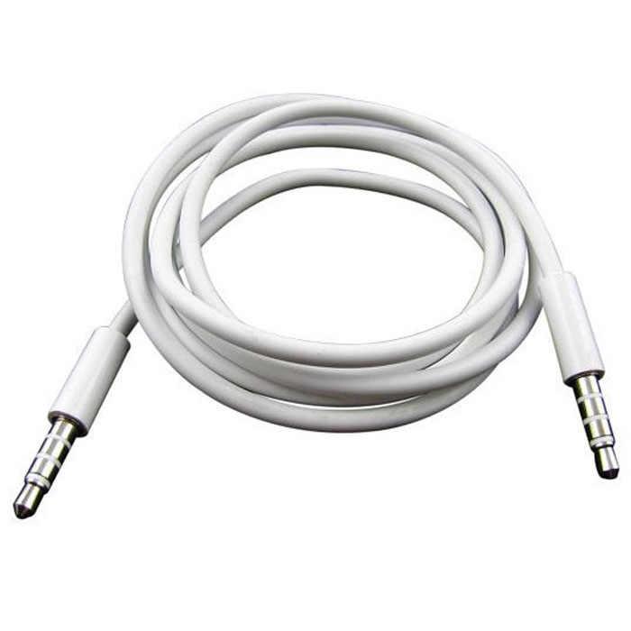 100% Murni 4 Tiang 1 M 3.5 Mm MALE Persewaan Mobil AUX Audio Kabel Headphone Hubungkan Kabel Drop Pengiriman