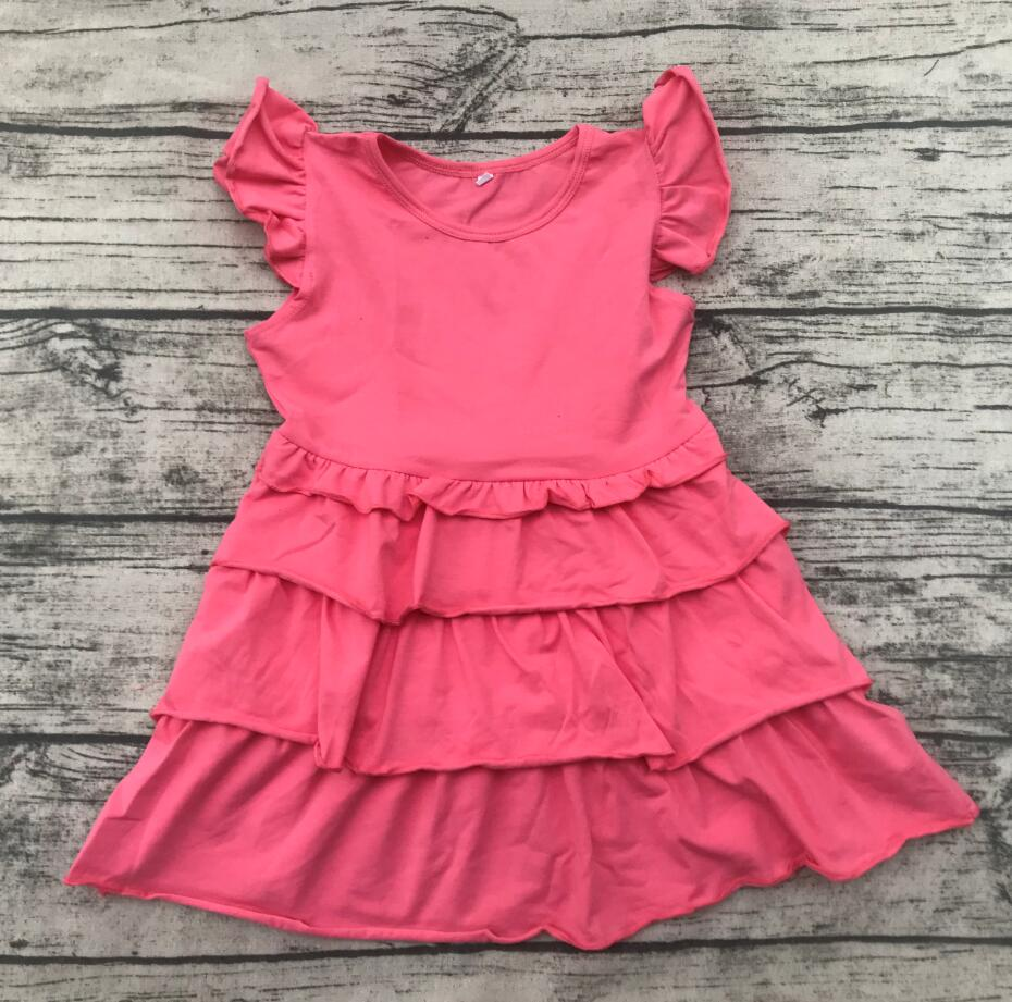 summer children clothes new style fancy girls xxx photo summer kids fashion dress baby ruffle dress