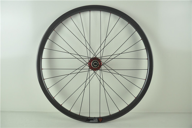 1404g Per Set 29er Carbon Mtb Bike Wheels 30mm Width, 28H Without Outer Holes , NOVATEC 771 Hubs Central lock/Bolted Type