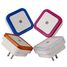 Multipurpose Plug-Typed Sensing Plastic Hallway LED Nightlight