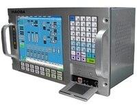 12.1 LCD, Industrial computer, 6U 19 Rack mount, 5 w Touchscreen; Core 2 Duo P7550 CPU, 2GB Memory, 500GB HDD, 4xPCI,4xISA