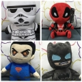 20cm MARVEL Plush SUPERMAN& BATMAN DOLL STARWAR DEADPOLL PLUSH TOYS