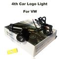 4-й Автомобиль логотип Свет Эмблема Лазерная Дверь Лампы Авто Призрак Тень Лампа Для VW Passat B6 B7 CC Golf Jetta MK5 MK6 Tiguan EOS GTI Поло