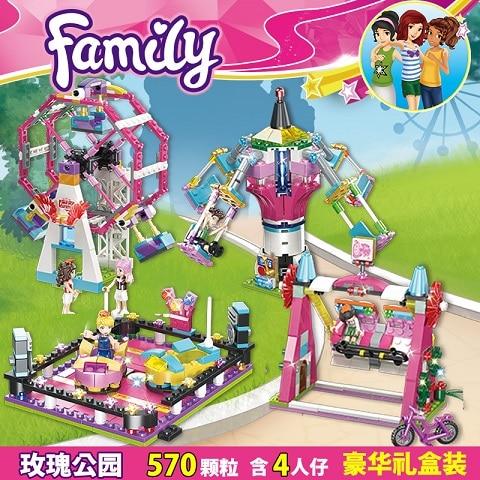 City Girl Figures Building Blocks Compatible legoing Friends Bricks Educational Toys for Children5583