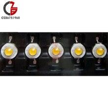 5 шт. 3 Вт высокомощный светодиодный чип светодиодный бисер 200LM теплое белое светодиодное освещение