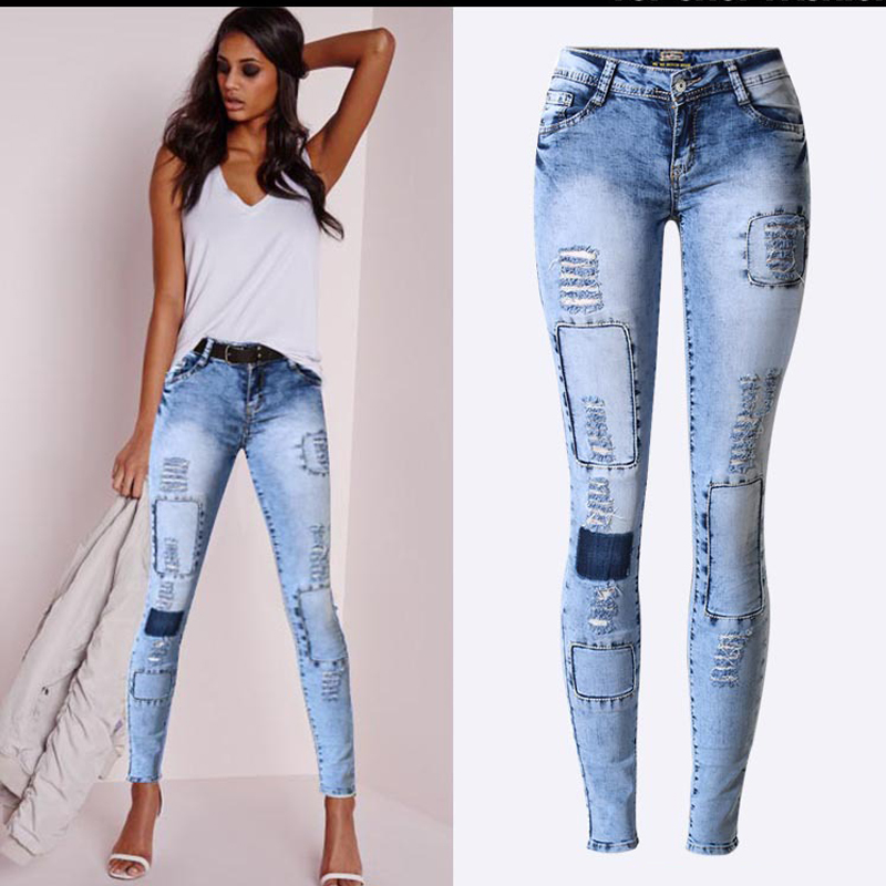Skinny stretch jeans for women – Global fashion jeans models