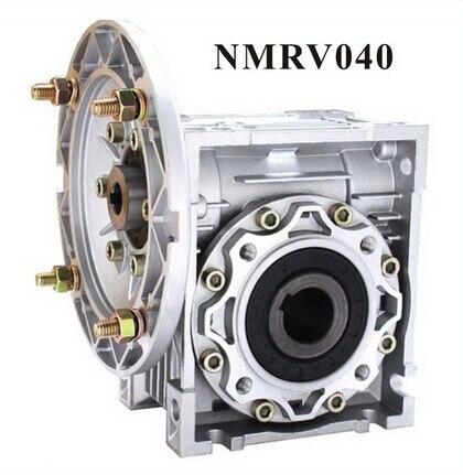 2 adet/grup NMRV040 Solucan Düşürücü 7.5: 1-100: 1 Oranı 11mm 14mm giriş mili Nema 34 Worm Şanzıman Hız Düşürücü