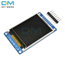 """1.8 """"풀 컬러 128x160 SPI 1.8 인치 풀 컬러 TFT LCD 디스플레이 모듈 ST7735S 3.3V Arduino DIY 용 OLED 전원 공급 장치 교체"""