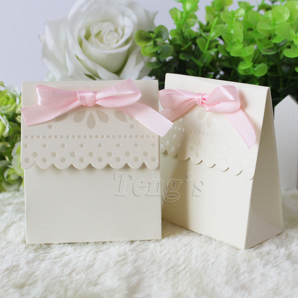 Baby Shower Favors Mints ~ Free shipping pcs lot party wedding favor boxes bags