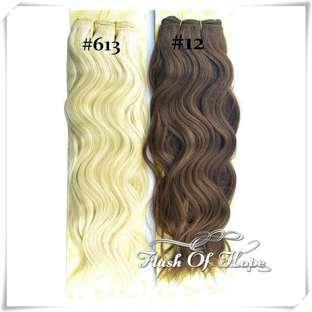 10 Packslot Wholesale Mix Ombre Blonde Color Brazilian Natural Wave