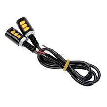 1 par LED Luzes Da Placa de Licença Número Da Placa Da Lâmpada Lâmpadas Luz Para Auto Moto 12 v 3 Luzes LED Barcos carro-styling