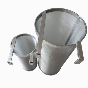 Image 1 - 300 Micron Stainless Steel Beer Filter Two Hooks Dry Hop Spider Hopper Cornelius Kegs Home Brew Hook Filter