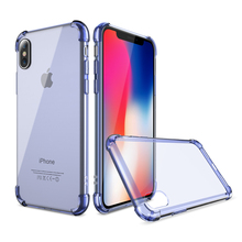 Shockproof Phone Case For iPhone X Clear Soft Silicone Ultra Slim Back Cover For iPhone 10 Case Accessories Coque Fundas