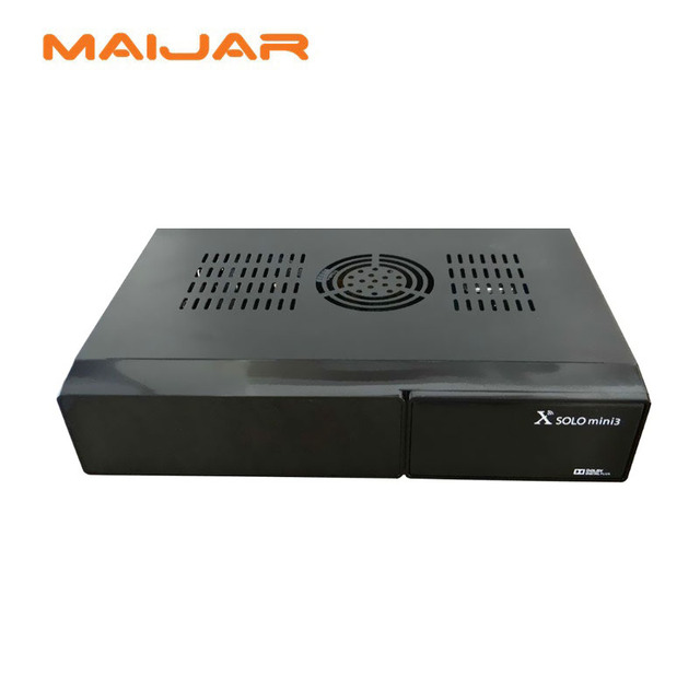 X Solo MINI3 with Dual-Core Processor BCM7358 Solution HD 1080p 4Gb Flash 1Gb DDR3 DVB-S2\T2\C Combo Enigma2 Satellite Receiver