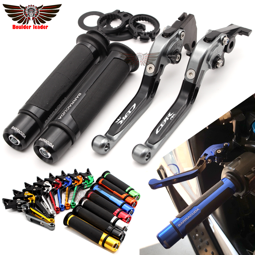Pour HONDA CBR 600 RR CBR954RR 2002 CBR600RR 2003-2006 Moto Pliant Réglable Frein leviers d'embrayage Guidon poignées