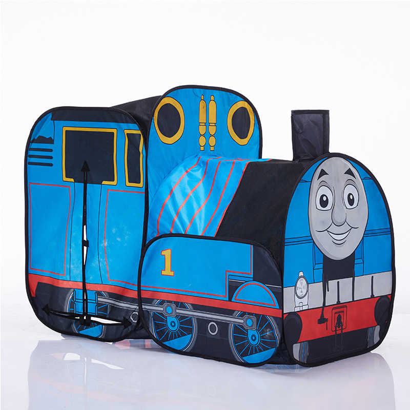 The Train Play Vehicle Toy Tent For Children Pop Up Playhouse Kids Game House Child Baby Portable and inflatable Tents