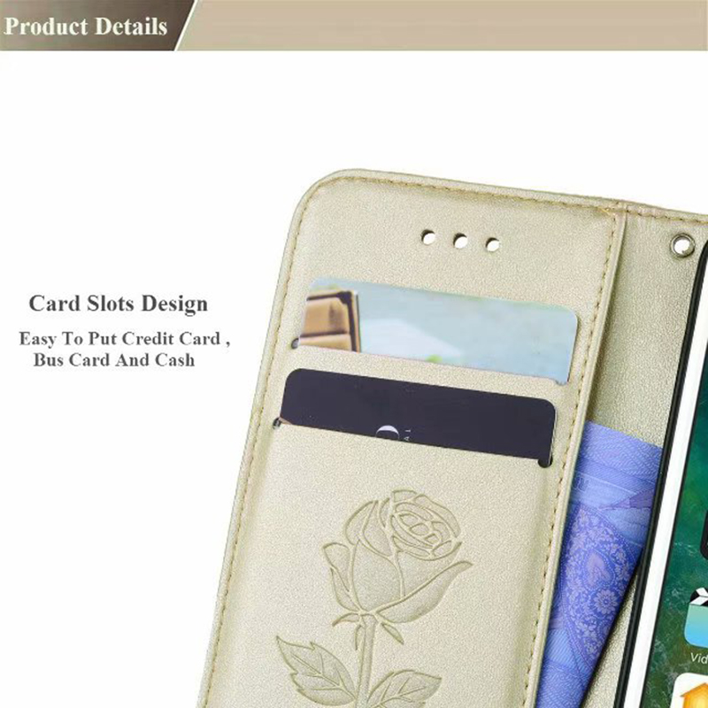 Leather wallet flip phone case for Chiaomi F1 A1 Redmi 6 Pro Note 4X Note 5A Redmi 5 Plus 4A 5A 6A Redmi S2 phone bag in Flip Cases from Cellphones Telecommunications