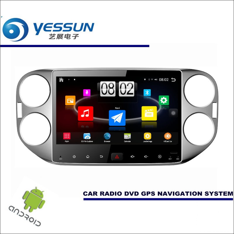 YESSUN Car Android Player Multimedia For Volkswagen VW Tiguan Radio Stereo GPS Nav Navi Navigation ( no CD DVD ) 10.1 HD Screen