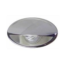 Lámpara de pared o techo empotrada de acero inoxidable, lámpara de pared o de techo, para yate, barco, 12V