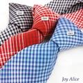 2017 Diseño de Moda Marca 6 cm corbata lazos de algodón para los hombres de la boda de rayas gravatas corbata lazo corbatas partido delgado T27-2